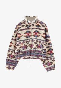 PULL&BEAR - Winter jacket - mottled beige - 6