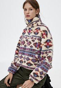 PULL&BEAR - Winter jacket - mottled beige - 3
