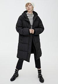 PULL&BEAR - Veste d'hiver - black - 1