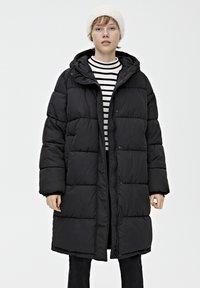 PULL&BEAR - Veste d'hiver - black - 0