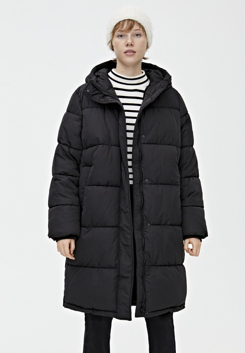 PULL&BEAR - Veste d'hiver - black