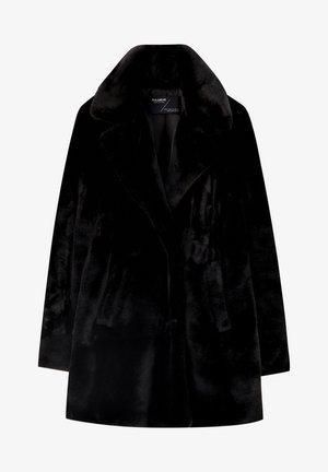 MIT KUNSTPELZ - Veste d'hiver - black