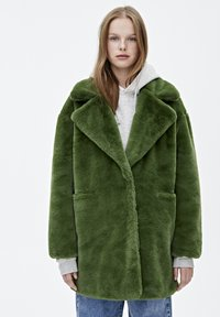 PULL&BEAR - Vinterkappa /-rock - dark green - 0