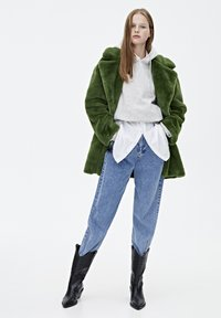PULL&BEAR - Vinterkappa /-rock - dark green - 1