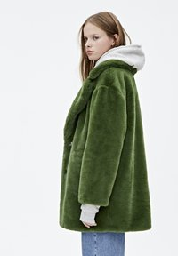 PULL&BEAR - Vinterkappa /-rock - dark green - 3