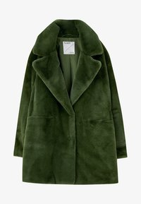 PULL&BEAR - Vinterkappa /-rock - dark green - 5