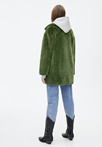 PULL&BEAR - Vinterkappa /-rock - dark green - 2