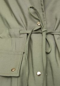 PULL&BEAR - Halflange jas - dark green - 5