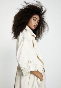 PULL&BEAR - Trench - beige - 4