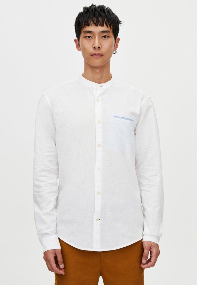PULL&BEAR - Shirt - white