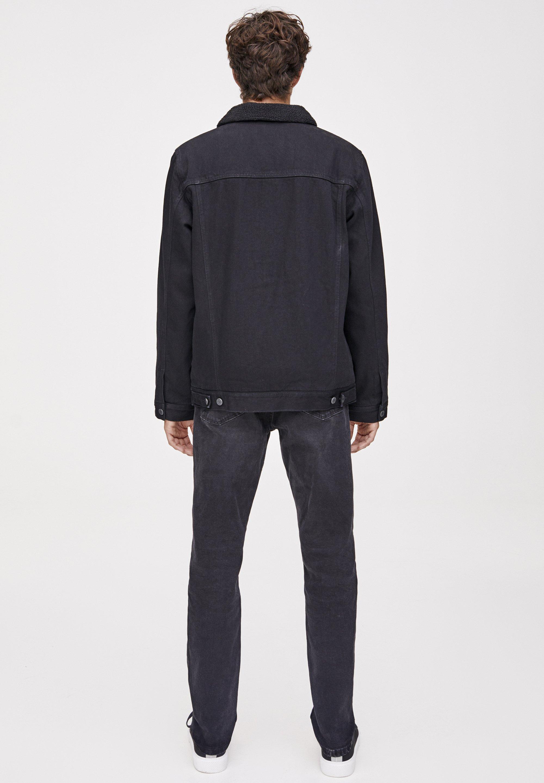PULL&BEAR MIT LAMMFELLIMITAT- Veste en jean black