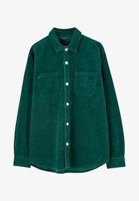 PULL&BEAR - Overhemd - dark green - 5