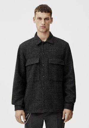 MIT PATTENTASCHEN  - Overhemd - dark grey