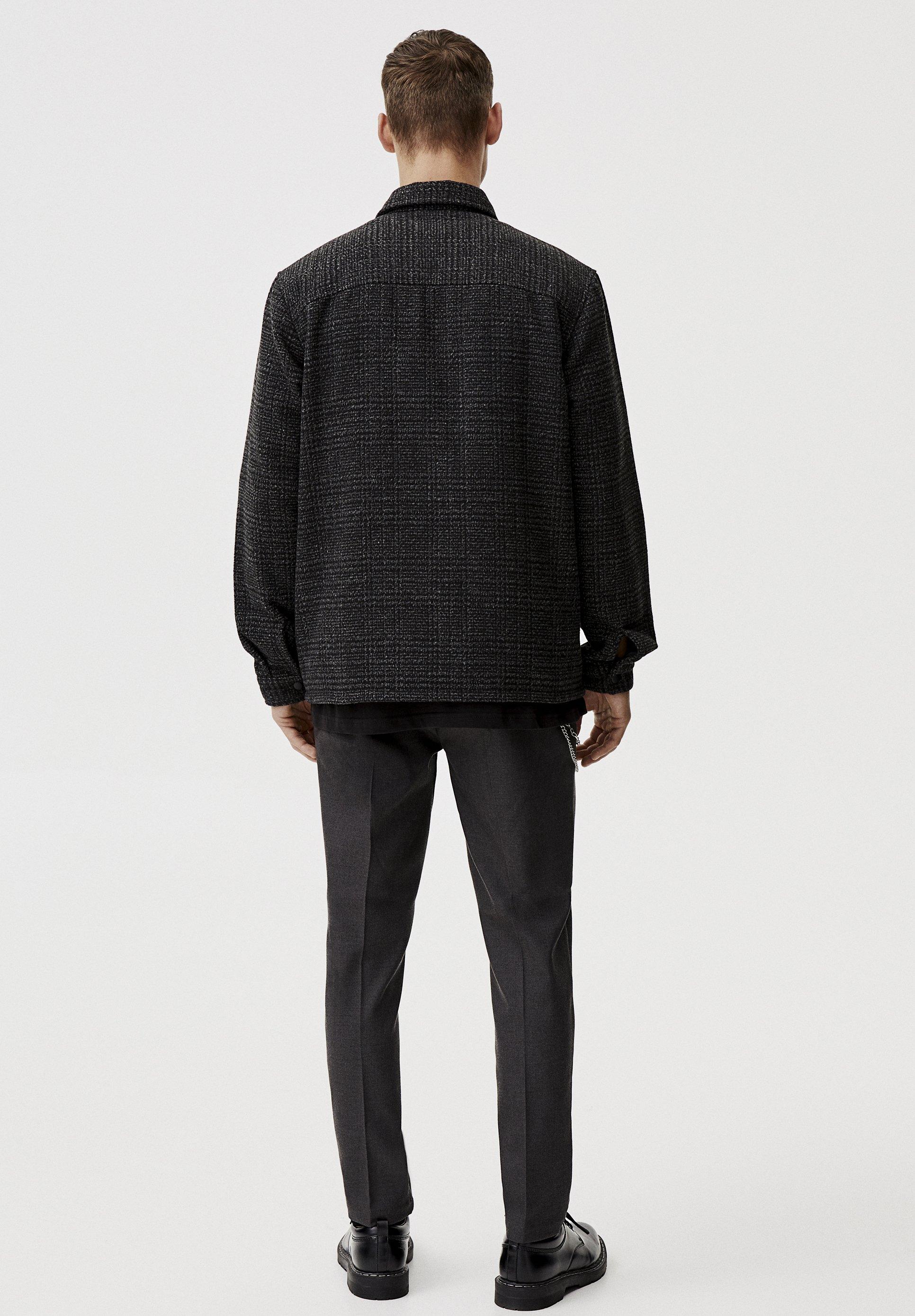 Pull&bear Mit Pattentaschen - Skjorter Dark Grey