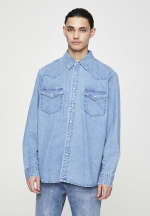 IM COWBOYLOOK - Chemise - mottled light blue