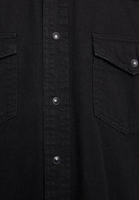 PULL&BEAR - IM COWBOYLOOK - Chemise - black denim - 5