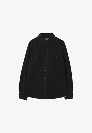 IM COWBOYLOOK - Košile - black denim