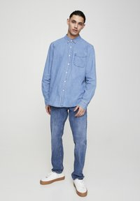 PULL&BEAR - BASIC - Chemise - blue denim - 1