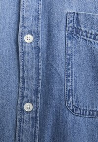 PULL&BEAR - BASIC - Chemise - blue denim - 6