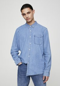 PULL&BEAR - BASIC - Chemise - blue denim - 0