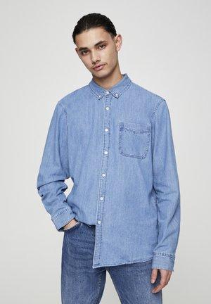 BASIC - Koszula - blue denim