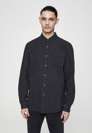 BASIC - Chemise - mottled black