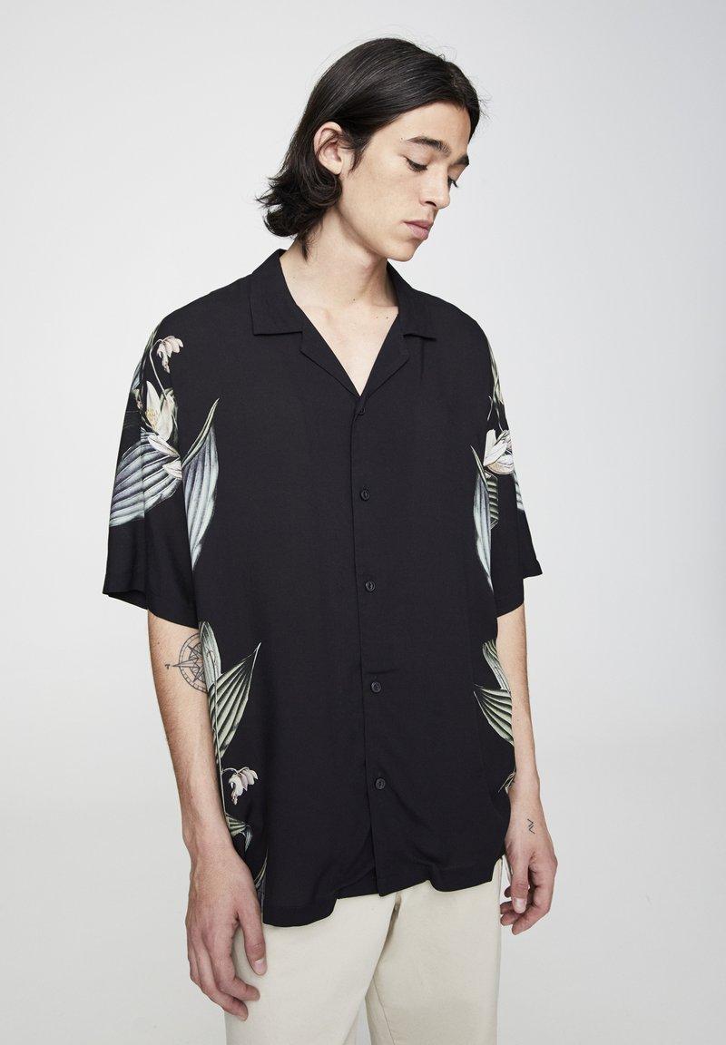 PULL&BEAR - Koszula - black