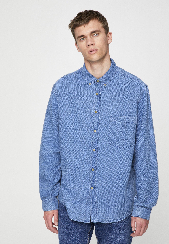 PULL&BEAR Koszula - light blue