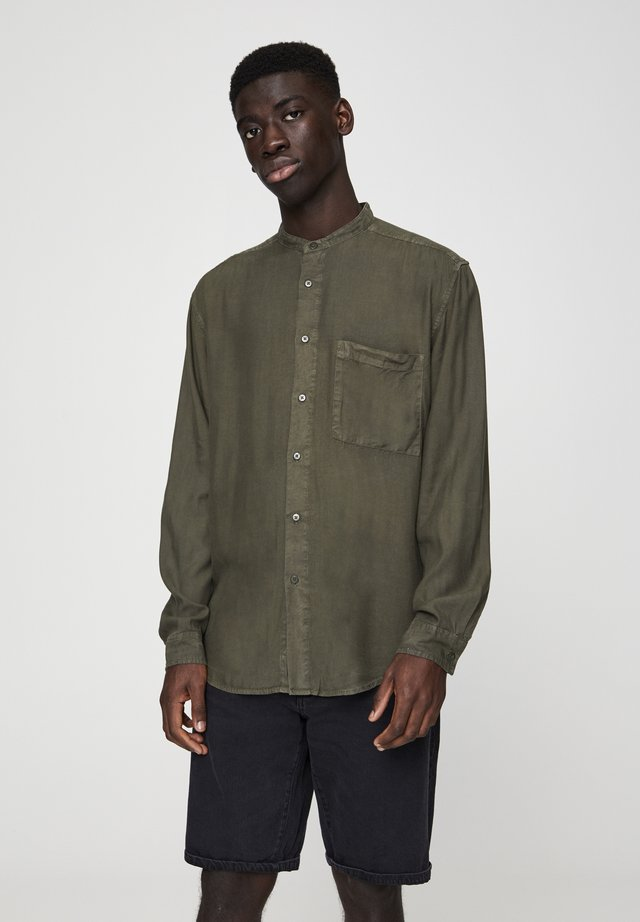 MIT MAOKRAGEN - Camicia - khaki