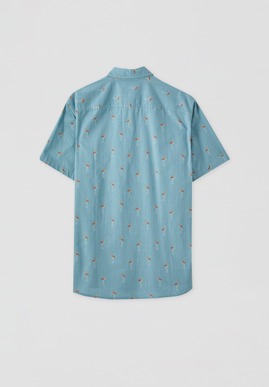 chemise bleu turquoise zalando