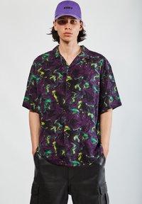 PULL&BEAR - Camicia - mottled purple - 0