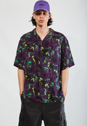 Chemise - mottled purple