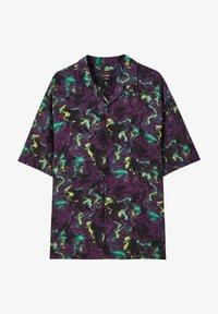 PULL&BEAR - Camicia - mottled purple - 4