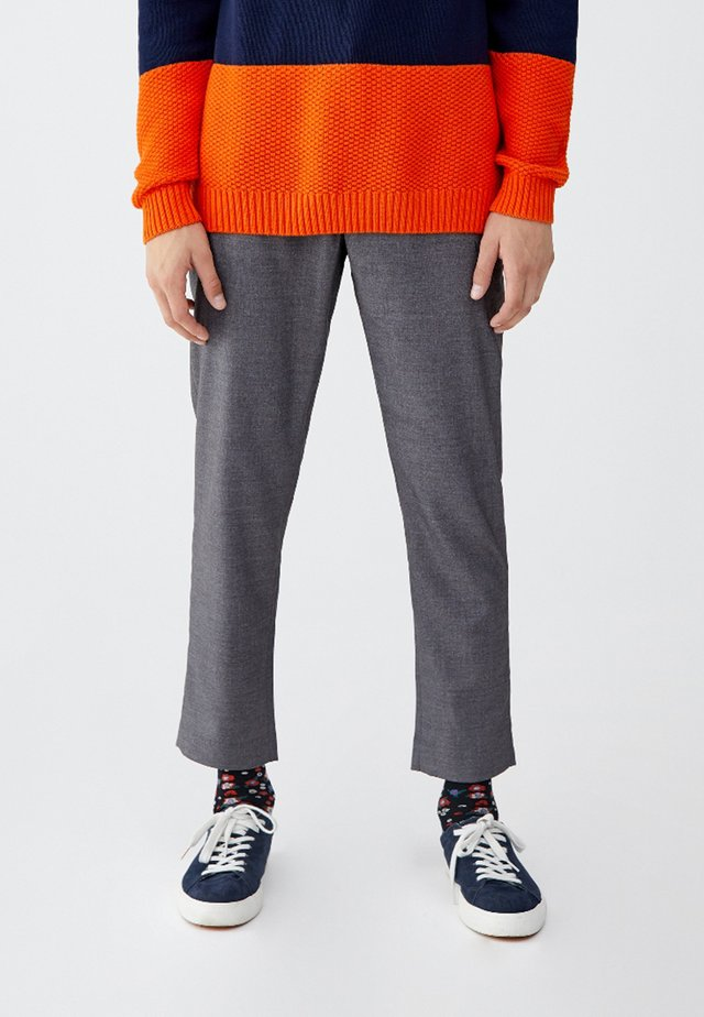 TAILORING - Spodnie garniturowe - grey