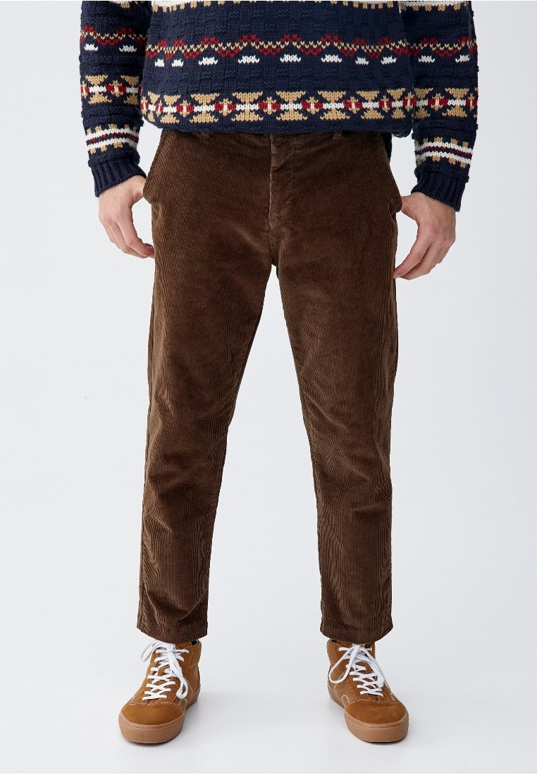 PULL&BEAR - Chino - brown