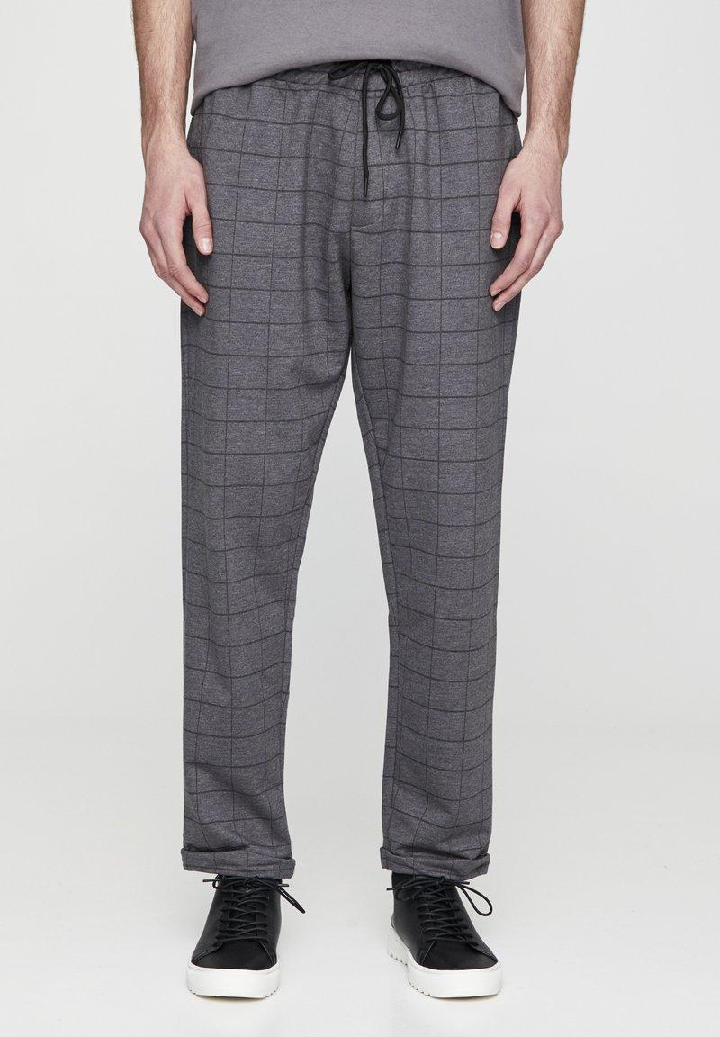 PULL&BEAR - Kalhoty - grey denim