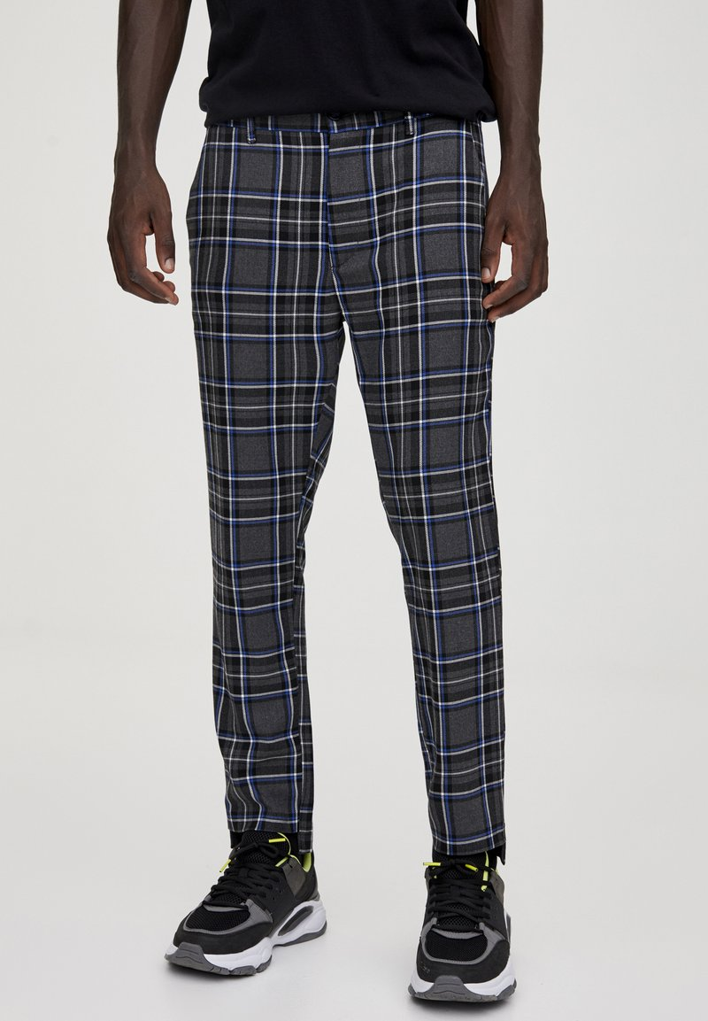 PULL&BEAR - Pantalon classique - light grey