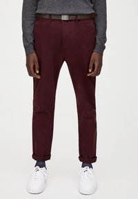 PULL&BEAR - Chinot - bordeaux - 0
