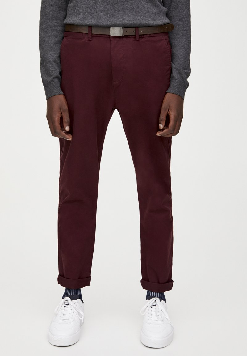 PULL&BEAR - Chinot - bordeaux