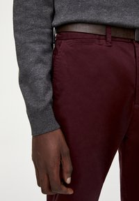 PULL&BEAR - Chinot - bordeaux - 4