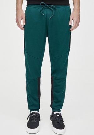 IN KONTRASTFARBEN - Spodnie treningowe - dark green