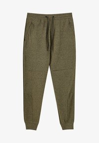 PULL&BEAR - Pantalon de survêtement - khaki - 6