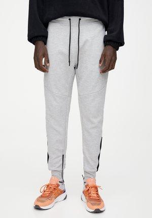 BASIC-JOGGINGHOSE MIT OTTOMANSTRUKTUR 09670511 - Teplákové kalhoty - light grey