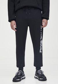 PULL&BEAR - STAR WARS  - Pantaloni sportivi - black - 0