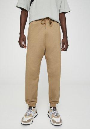 BASIC - Pantalon de survêtement - brown