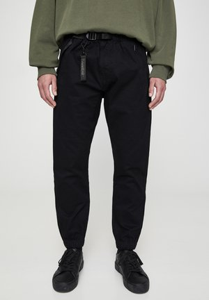 BASIC-BEACH - Trousers - metallic black