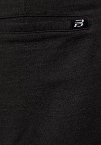 PULL&BEAR - Spodnie treningowe - dark grey - 5
