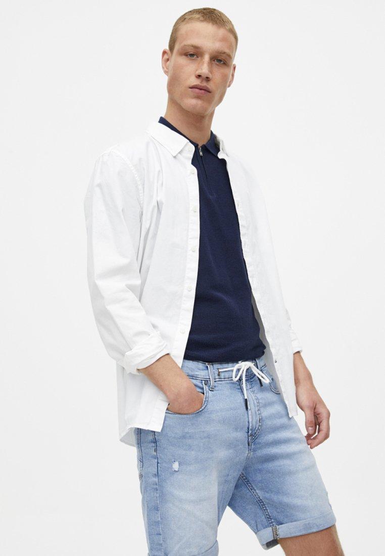PULL&BEAR - Jeans Shorts - light-blue denim