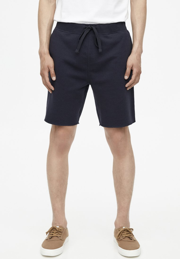 PULL&BEAR - BASIC - Shorts - blue
