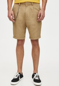 PULL&BEAR - Shorts - camel - 0